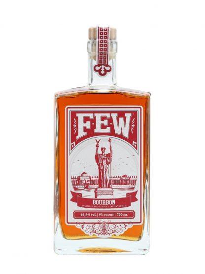 Bottle of FEW Straight Bourbon Whiskey