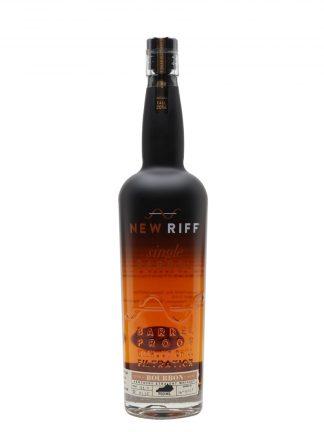 A bottle of New Riff Single Barrel straight Bourbon