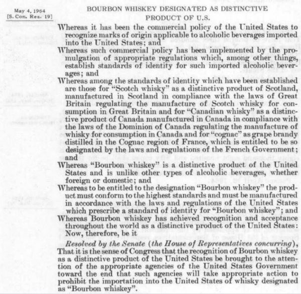 Dedicated spirts act 1964