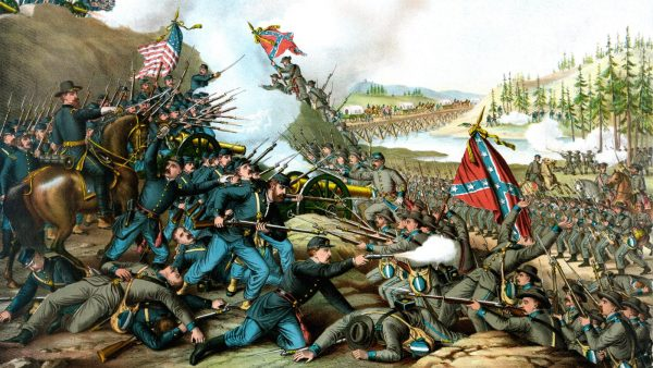 An image of the 1861 US Civil War