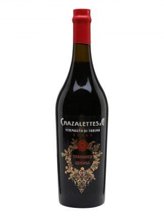 A bottle of Chazalettes Rosso della Regina Vermouth