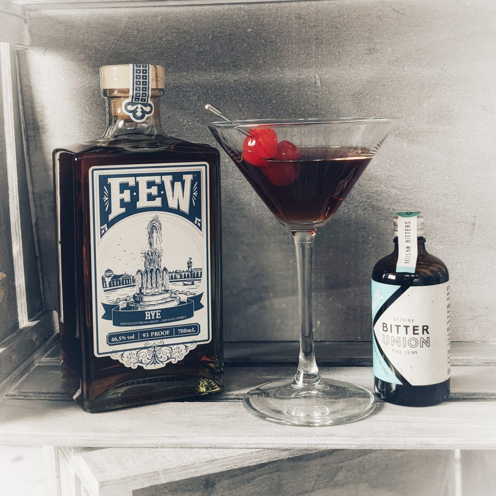 The Manhattan. Whiskey's answer to the venerable Gin Martini and a heavyweight of the cocktail world.