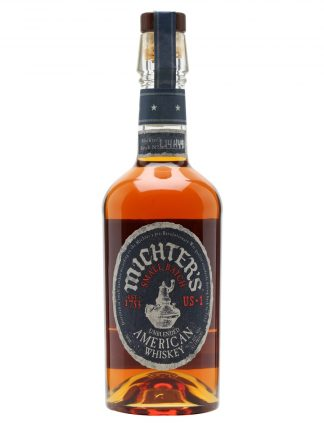 A bottle of Michters US*1 American Whiskey