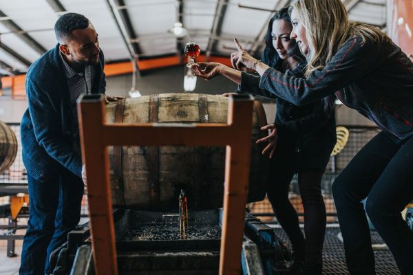 People on the American Whiskey Trail