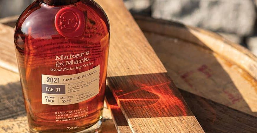 Makers Mark unveils 2021 Limited Edition Wood finishing series Boubons