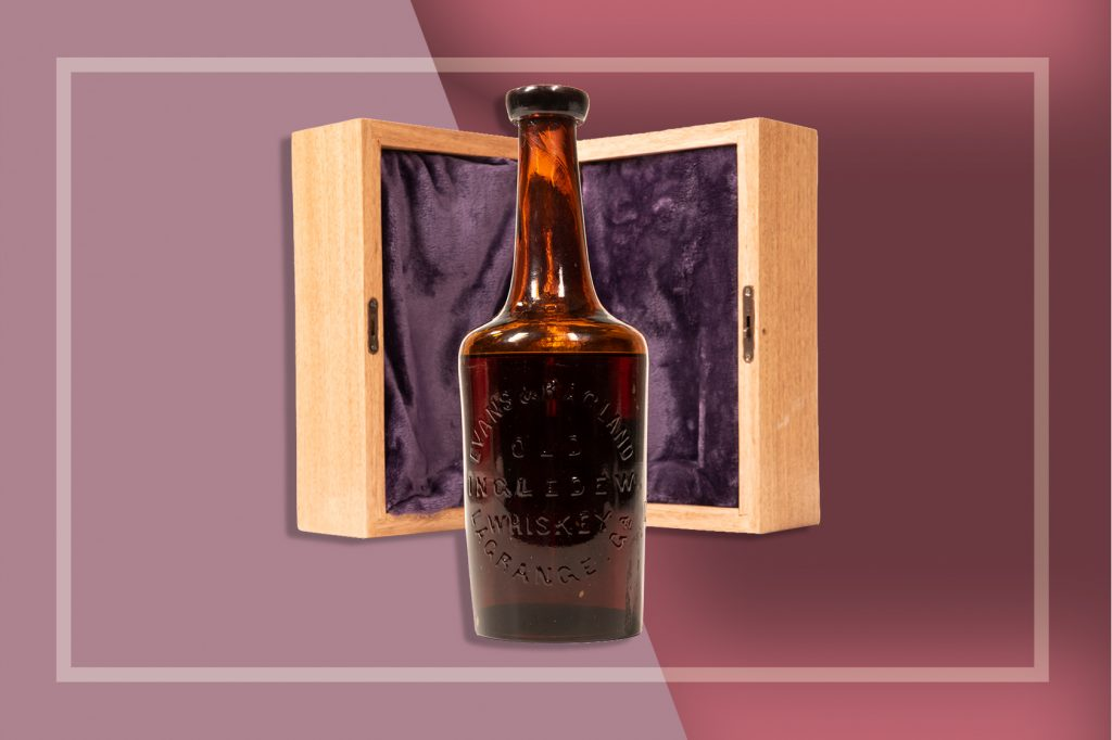 An image of the worlds oldest known Bourbon Whiskey