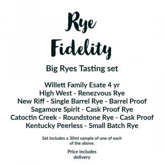 Rye Fidelity Big Rye sample set contents