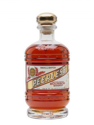 A bottle of Kentucky Peerless Small Batch Bourbon